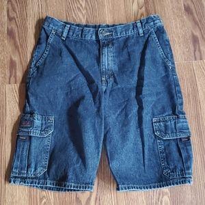 Wrangler boys husky denim shorts 14